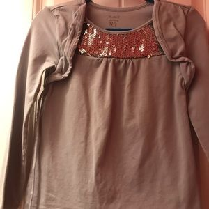 Girl long sleeve shirt size 5